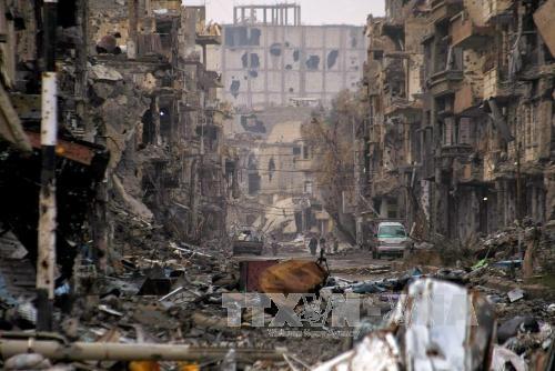 รัสเซีย สหรัฐและสหประชาชาติจะประชุมกันเกี่ยวกับปัญหาของซีเรีย ณ ประเทศสวิตเซอร์แลนด์ - ảnh 1