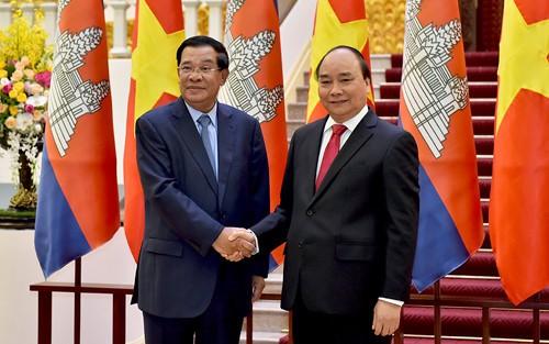 เสริมสร้างและพัฒนาความสัมพันธ์เวียดนาม-กัมพูชา - ảnh 1