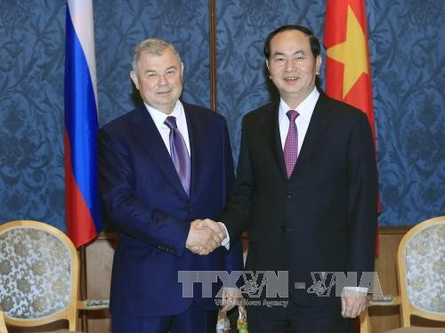 ประธานประเทศเวียดนามเยือนเมืองเซนต์ปีเตอร์สเบิร์ก ประเทศรัสเซีย - ảnh 1