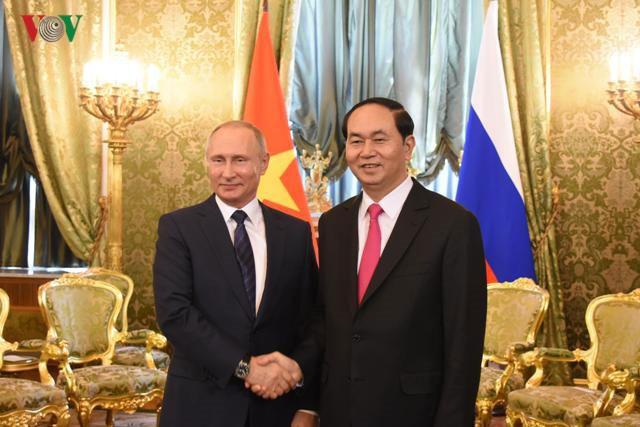 ประธานประเทศเวียดนามเสร็จสิ้นการเยือนประเทศรัสเซีย - ảnh 1