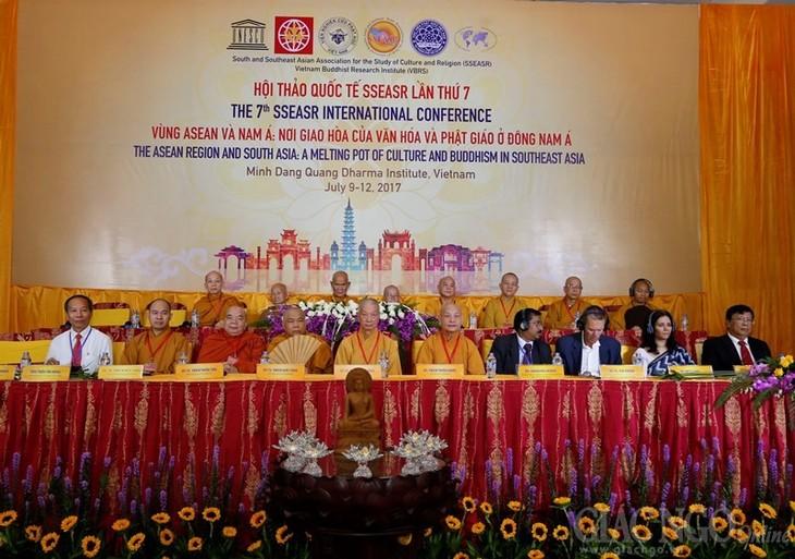 อาเซียนและภูมิภาคเอเชียใต้-จุดหลอมรวมหว่างวัฒนธรรมกับพุทธศาสนาในภูมิภาคเอชียตะวันออกเฉียงใต้ - ảnh 1