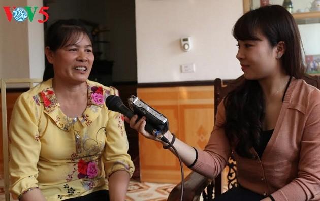 นาง เจิ่นถิหั่ง-สตรีดีเด่นในการสร้างสรรค์ชนบทใหม่ในจังหวัดฮึงเอียน - ảnh 1