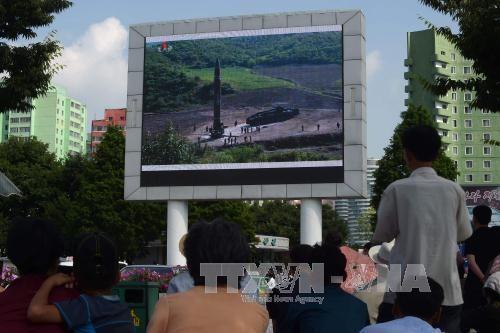 รัสเซียและจีนแสวงหามาตรการลดความตึงเครียดบนคาบสมุทรเกาหลี - ảnh 1