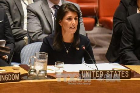 สหรัฐเห็นว่า คณะมนตรีความมั่นคงแห่งสหประชาชาติหมดหนทางในการรับมือกับเปียงยาง - ảnh 1