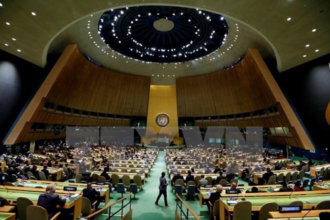 รัสเซียไม่สนับสนุนข้อเสนอของสหรัฐเกี่ยวกับการปฏิรูปสหประชาชาติ - ảnh 1