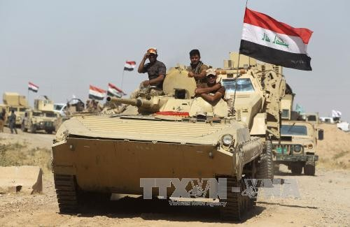 ฐานที่มั่นสุดท้ายของกลุ่มไอเอสในภาคเหนือของอิรัก - ảnh 1