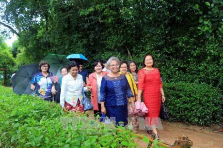 คณะอดีตครูอาจารย์เวียดนามที่อาศัยในประเทศไทยเยือนบ้านเกิดของประธานโฮจิมินห์ - ảnh 1