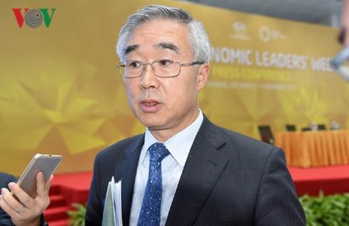การเยือนเวียดนามของประธานประเทศจีนมีส่วนช่วยผลักดันการค้าระหว่างสองประเทศ - ảnh 1