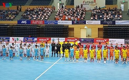 เปิดการแข่งขันฟุตซอลระดับประเทศรอบชิงชนะเลิศ  - ảnh 1