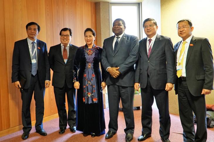 ภารกิจของประธานสภาแห่งชาติเวียดนามในการประชุมสมัชชาใหญ่สหภาพรัฐสภาโลก - ảnh 1