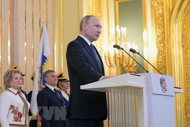 ประธานาธิบดีรัสเซียกำหนดหน้าที่เชิงยุทธศาสตร์การพัฒนาประเทศรัสเซีย - ảnh 1
