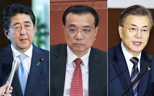การประชุมสุดยอดระหว่างจีน ญี่ปุ่นและสาธารณรัฐเกาหลียืนยันแนวทางความร่วมมือ - ảnh 1