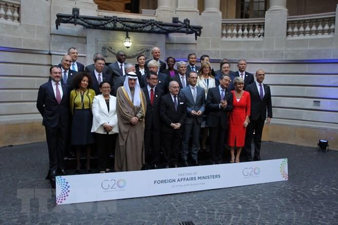 กลุ่มจี20ให้คำมั่นที่จะส่งเสริมความร่วมมือในปัญหาต่างๆของโลก - ảnh 1