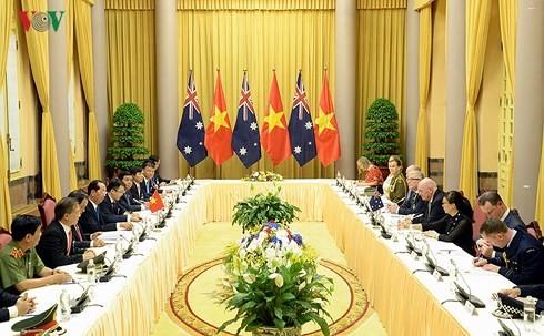 กระชับความสัมพันธ์หุ้นส่วนยุทธศาสตร์เวียดนาม-ออสเตรเลีย - ảnh 1