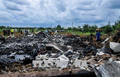พบกล่องดำที่เหลือของเครื่องบินที่ประสบอุบัติเหตุตกในคิวบา - ảnh 1