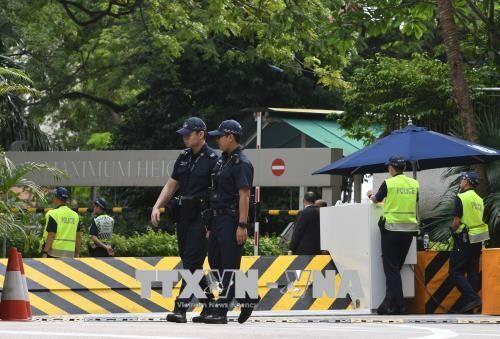สิงคโปร์เพิ่มความเข้มงวดในการรักษาความปลอดภัยเพื่อเตรียมให้แก่การพบปะสุดยอดระหว่างสหรัฐกับเปียงยาง - ảnh 1