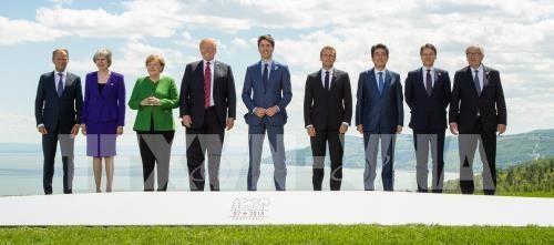 การประชุมสุดยอดกลุ่มจี7ออกแถลงการณ์เกี่ยวกับหลายปัญหา - ảnh 1