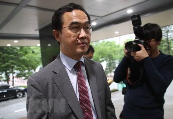 สำนักข่าวยอนฮัปและกระทรวงรวมชาติสาธารณรัฐเกาหลีจัดการสัมมนาเกี่ยวกับสันติภาพบนคาบสมุทรเกาหลี - ảnh 1