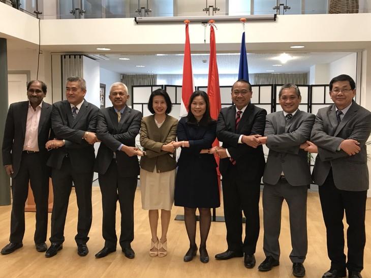 ผลักดันความร่วมมือระหว่างคณะกรรมการอาเซียนประจำกรุงเฮกกับประเทศเนเธอร์แลนด์  - ảnh 1