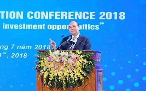 นายกรัฐมนตรีเวียดนามเข้าร่วมการประชุมส่งเสริมการลงทุนจังหวัดท้ายเงวียน - ảnh 1
