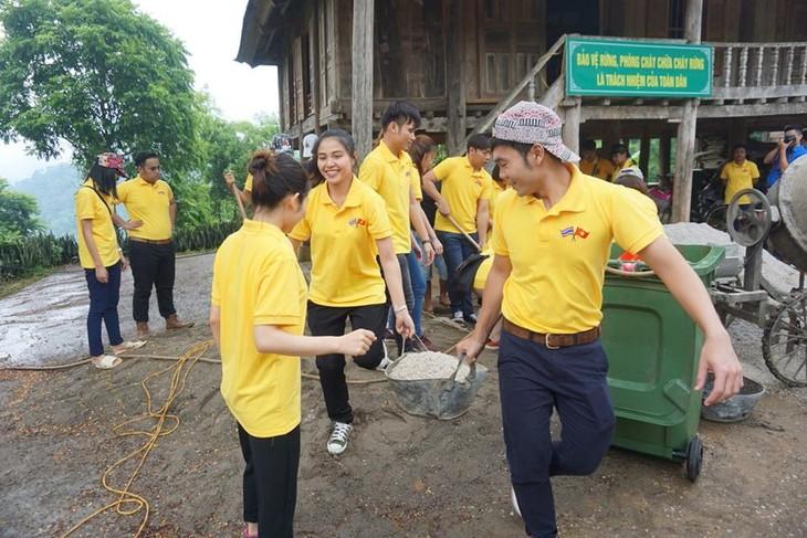 กิจกรรมต่างๆในกรอบโครงการแลกเปลี่ยนเยาวชนไทย-เวียดนามครั้งที่ 10 - ảnh 7