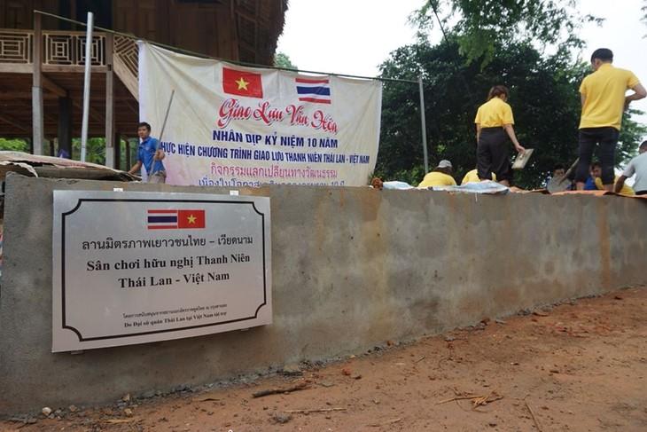กิจกรรมต่างๆในกรอบโครงการแลกเปลี่ยนเยาวชนไทย-เวียดนามครั้งที่ 10 - ảnh 4