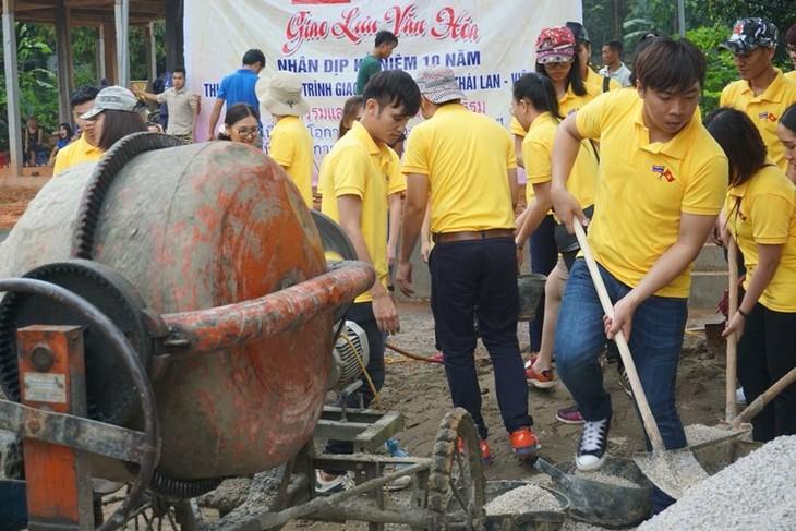 กิจกรรมต่างๆในกรอบโครงการแลกเปลี่ยนเยาวชนไทย-เวียดนามครั้งที่ 10 - ảnh 5