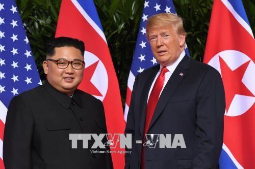 ประธานาธิบดีสหรัฐเปิดเผยจดหมายของผู้นำสาธารณรัฐประชาธิปไตยประชาชนเกาหลี - ảnh 1