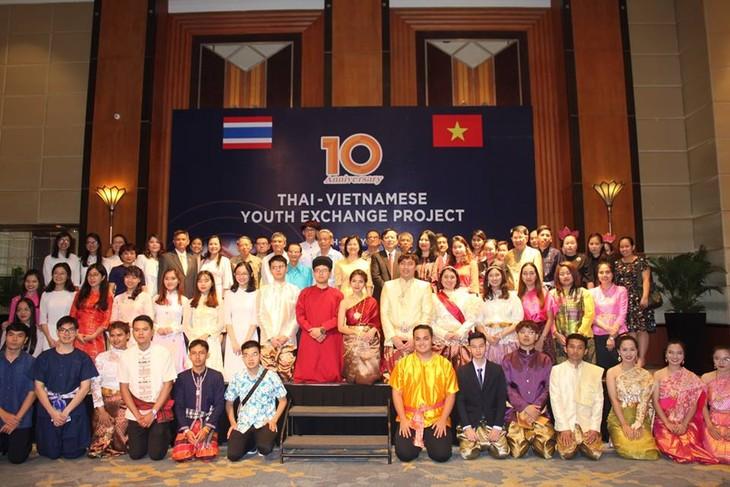 โครงการแลกเปลี่ยนเยาวชนเวียดนาม-ไทย-สะพานเชื่อมเพื่อผลักดันความสัมพันธ์ระหว่างสองประเทศ - ảnh 1