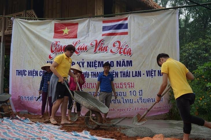 โครงการแลกเปลี่ยนเยาวชนเวียดนาม-ไทย-สะพานเชื่อมเพื่อผลักดันความสัมพันธ์ระหว่างสองประเทศ - ảnh 2