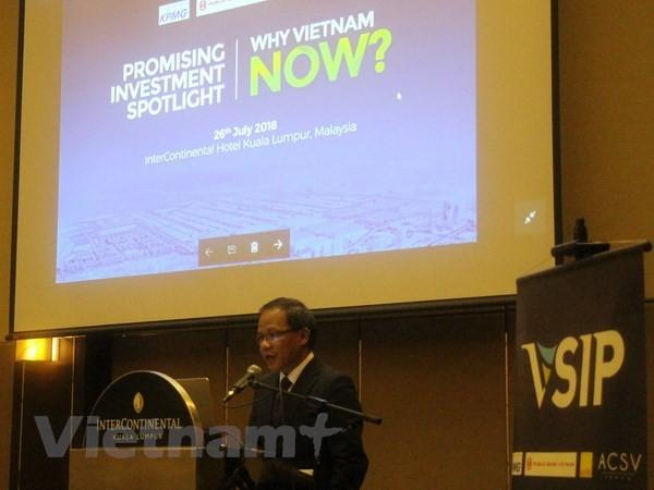 แนะนำจุดเด่นในการลงทุนของเวียดนามในประเทศมาเลเซีย - ảnh 1