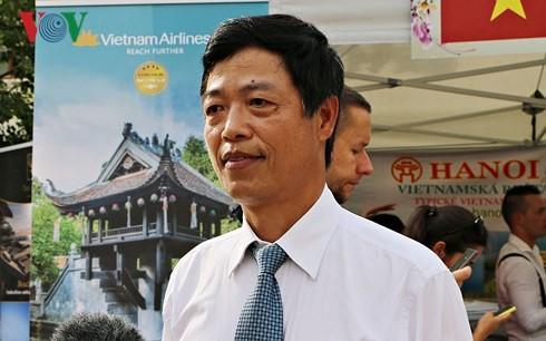 เวียดนามเข้าร่วมงานวัฒนธรรมภูมิภาคเอเชียในประเทศสโลวาเกีย - ảnh 1