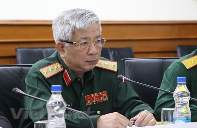 การสนทนานโยบายด้านกลาโหมระหว่างเวียดนามกับอินเดียเป็นการแสดงให้เห็นถึงความไว้วางใจทางการเมือง - ảnh 1