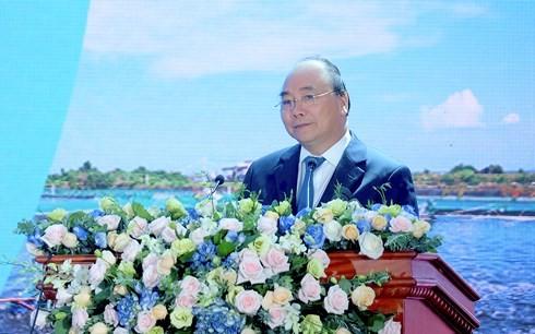 นายกรัฐมนตรีเวียดนามเข้าร่วมการประชุมส่งเสริมการลงทุนในจังหวัดเตี่ยนยางปี2018 - ảnh 1