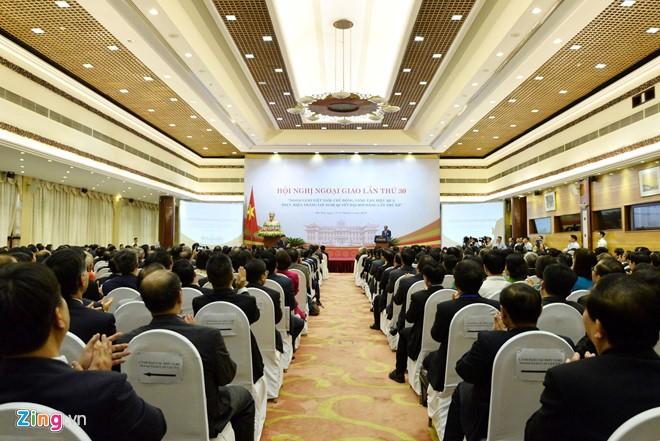 การประชุมหน่วยงานการทูตครั้งที่๓๐  ยืนยันสถานะของประเทศในสภาวการณ์ใหม่ - ảnh 2