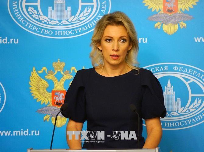รัสเซียและเยอรมนีตำหนินโยบายคว่ำบาตรของสหรัฐ - ảnh 1