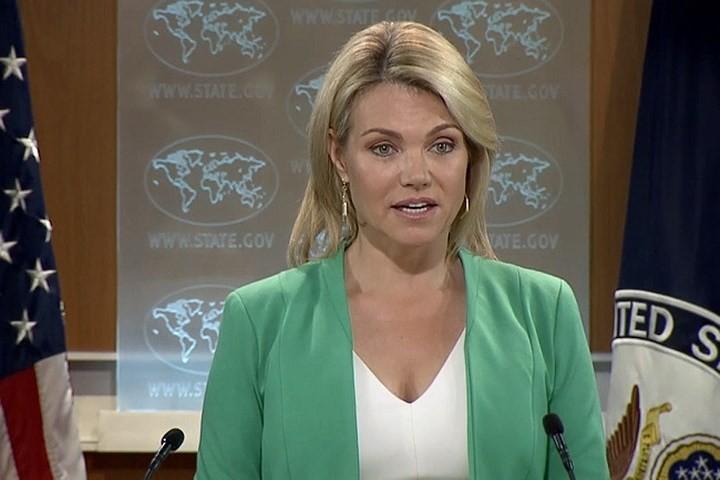 สหรัฐยืนยันไม่มีการประกาศยุติสงครามกับเปียงยางก่อนการปลอดนิวเคลียร์บนคาบสมุทรเกาหลี - ảnh 1