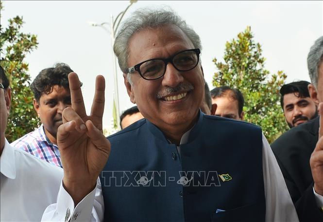 ประธานาธิบดีปากีสถาน Arif Alviขึ้นดำรงตำแหน่งอย่างเป็นทางการ - ảnh 1