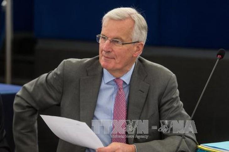 หัวหน้าคณะเจรจาเกี่ยวกับปัญหาBrexitของอียูเชื่อมั่นว่า อาจบรรลุข้อตกลงกับอังกฤษ - ảnh 1