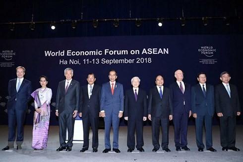 WEF ASEAN 2018และนิมิตหมายของเวียดนาม - ảnh 1