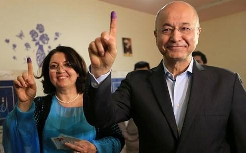 อิรักมีประธานาธิบดีคนใหม่ - ảnh 1