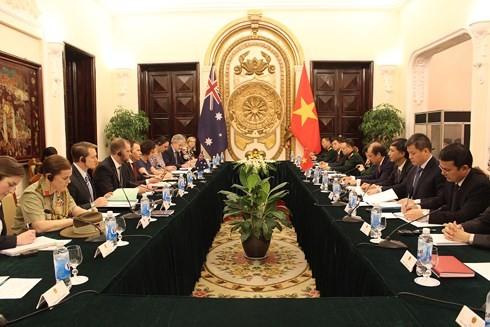 การสนทนายุทธศาสตร์ระดับรัฐมนตรีช่วยต่างประเทศและกลาโหมครั้งที่6ระหว่างเวียดนามกับออสเตรเลีย - ảnh 1