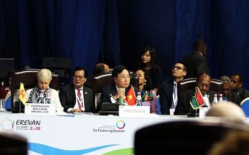 เวียดนามมีส่วนร่วมอย่างแข็งขันต่อการประชุมระดับสูงประเทศที่ใช้ภาษาฝรั่งเศสครั้งที่ 17 - ảnh 1
