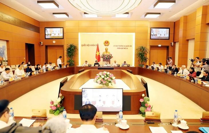การประชุมคณะกรรมาธิการสามัญสภาแห่งชาติครั้งที่34 - ảnh 1