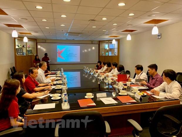 เวียดนามและสิงคโปร์ผลักดันความร่วมมือด้านวัฒนธรรมและการพบปะสังสรรค์ระดับประชาชน - ảnh 1