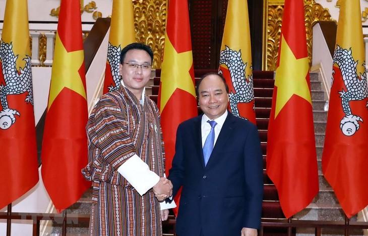 เวียดนามและภูฏานผลักดันความร่วมมือในหลายด้าน - ảnh 1