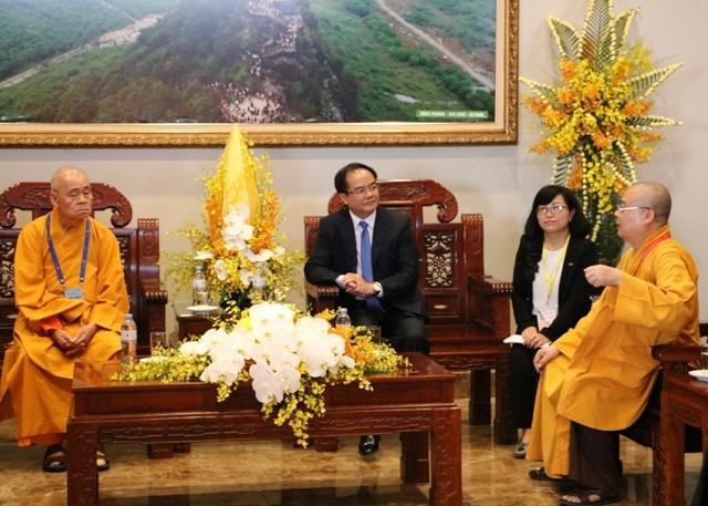 พุทธศาสนาเวียดนามส่งเสริมความสามัคคีกับพุทธศาสนาของประเทศต่างๆ - ảnh 2