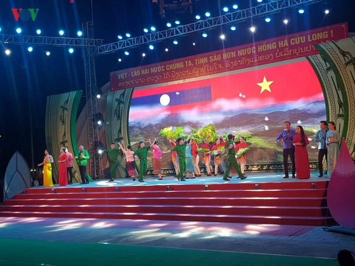 เปิดงานแลกเปลี่ยนวัฒนธรรม การกีฬาและการท่องเที่ยวชนกลุ่มน้อยในเขตชายแดนเวียดนาม-ลาว - ảnh 1