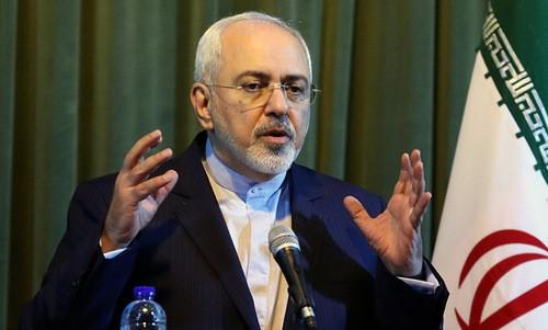 รัฐมนตรีต่างประเทศอิหร่านตอบโต้คำขู่ของประธานาธิบดีสหรัฐ - ảnh 1
