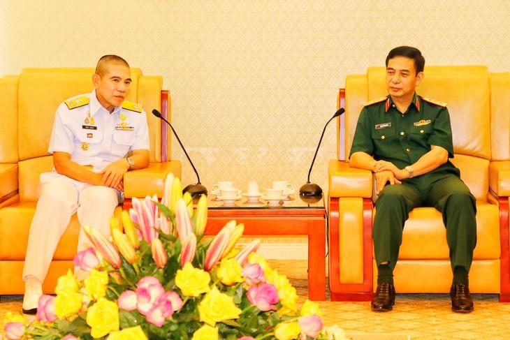 ไทยและเวียดนามกระชับความสัมพันธ์ระหว่างกองทัพเรือ - ảnh 1